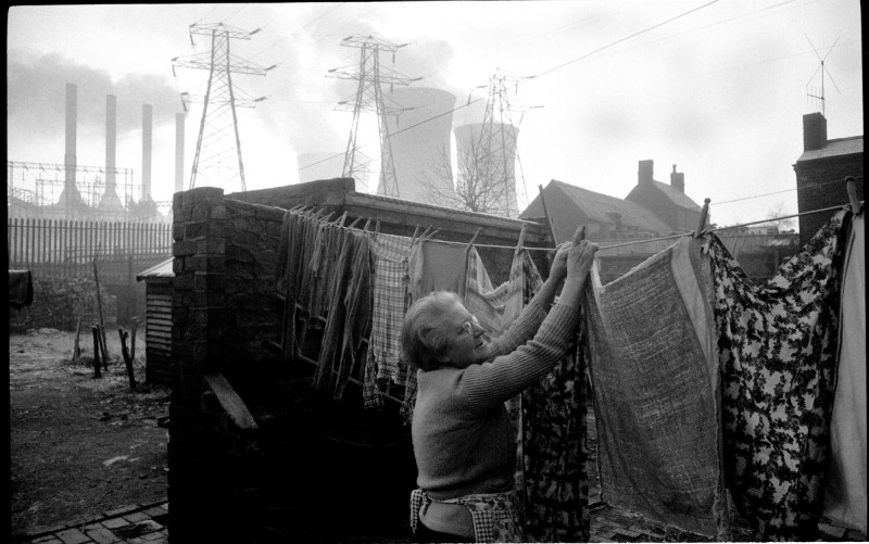 John Bulmer, OCKER HILL POWER STATION, BLACK COUNTRY, WINTER, 1960-1961
