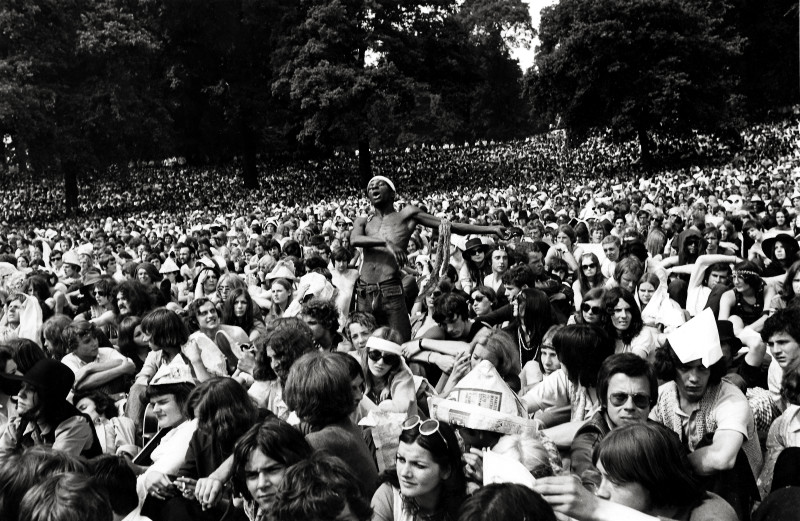 Frank Habicht, AND THE CROWD WENT CRAZY: STONES CONCERT, HYDE PARK, 1969