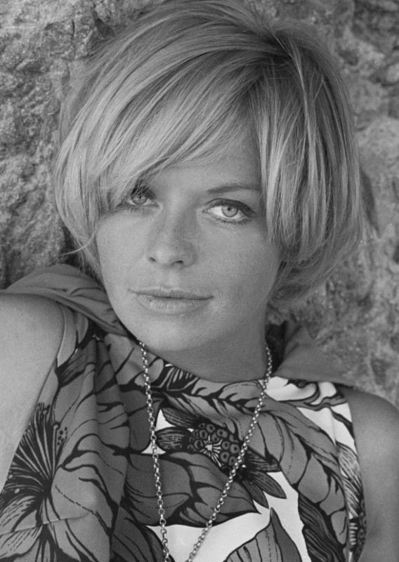 Patrick Lichfield, SUSANNAH YORK ON THE SET OF 'DUFFY', SPAIN, 3RD SEPTEMBER, 1967