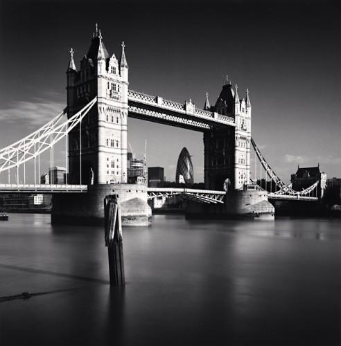 Michael Kenna, TOWER BRIDGE, LONDON, ENGLAND, 2007