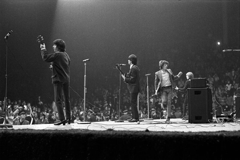 Gered Mankowitz, STONES LIVE, CUBAN HEELS, USA, 1965