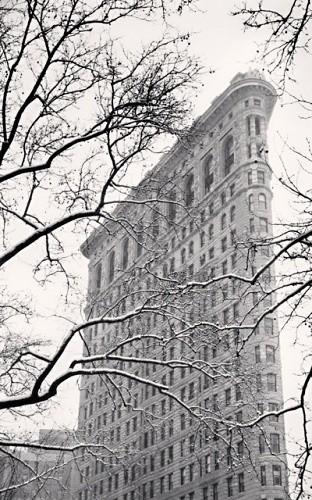 Michael Kenna, FLATIRON BUILDING, STUDY 2, NEW YORK, USA, 2003