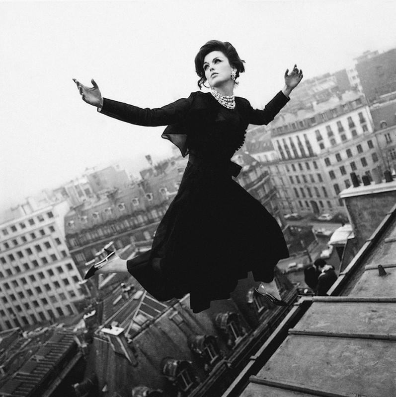 MELVIN SOKOLSKY, DIOR WINGS, PARIS, 1965