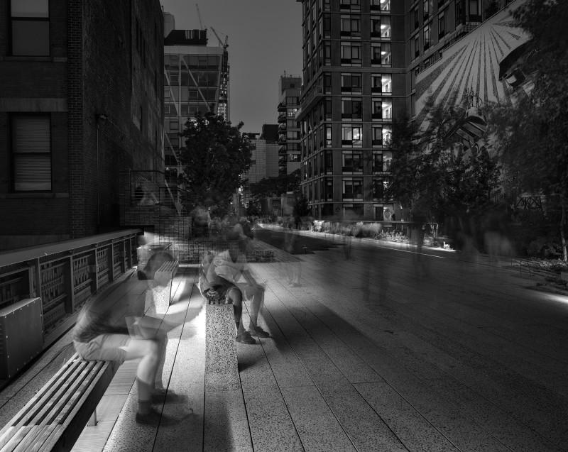 Matthew Pillsbury, EMRYS ON THE HIGH LINE, 2015