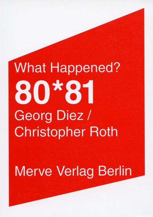 <b>Georg Diez / Christopher Roth</b><br>