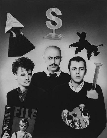 General Idea was formed in 1969 by AA Bronson, Felix Partz and Jorge Zontal.<br>AA Bronson, born Michael Tims, Vancouver, British Columbia, Canada (born 1946).<br>Felix Partz, born Ronald Gabe, Winnipeg, Manitoba, Canada (1945–1994).<br>Jorge Zontal, born Slobodan Saia-Levy, Parma, Italy (1944–1994).<br><br>The three artists worked and lived together until the deaths of Partz and Zontal in 1994.