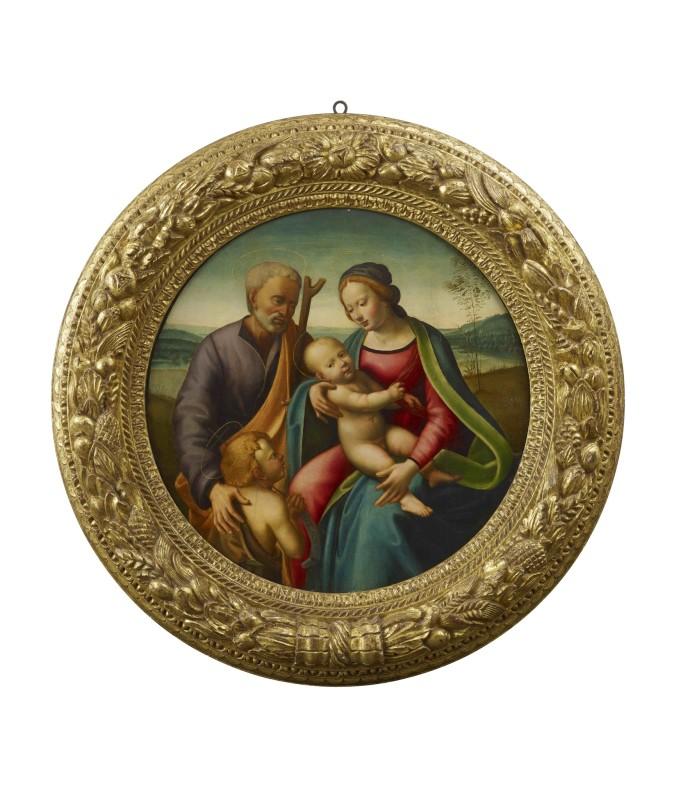 Raffaello Botticini, Holy Family with the Infant Saint John the Baptist