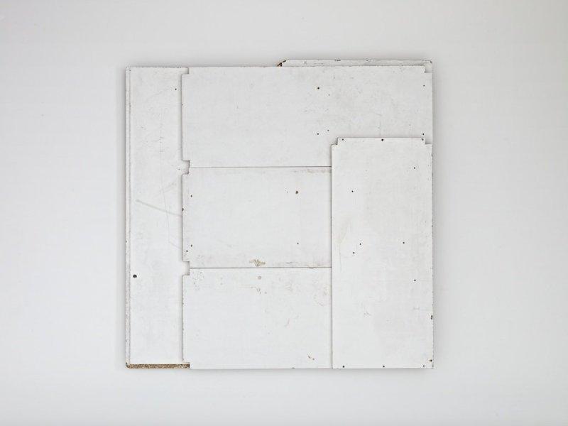 Paul Merrick, Flag (White), 2012