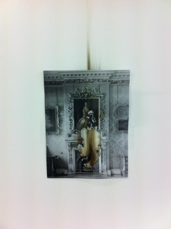 Catherine Bertola, Sad Bones (Studley Royal), 2014