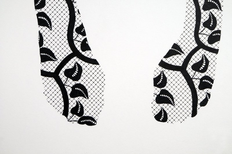 Catherine Bertola, Bluestockings (Fanny Burney Detail), 2009