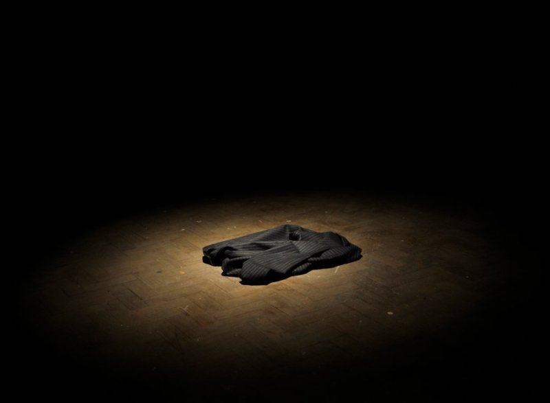 Richard Rigg, Cloth Arranged to Look Like a Jacket (Self Portrait), 2010