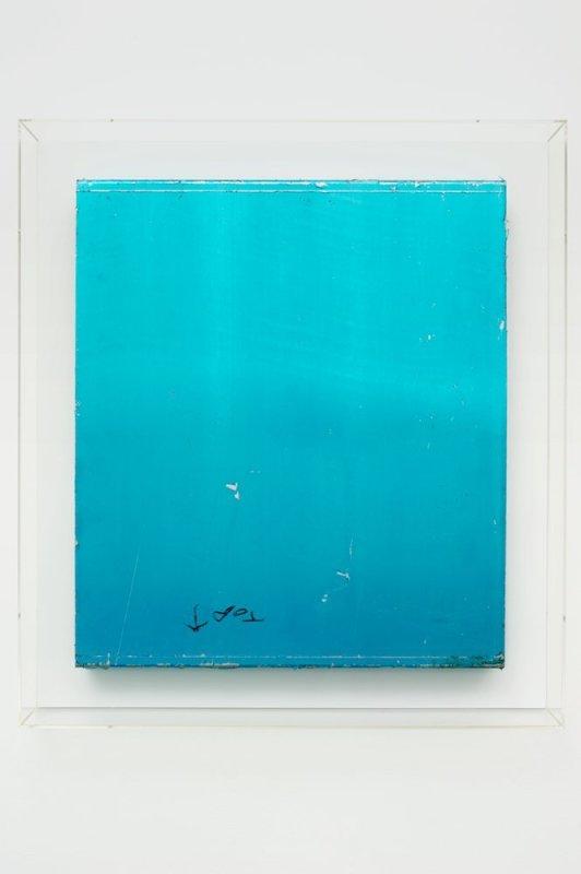 Paul Merrick, Untitled (Top Blue), 2010