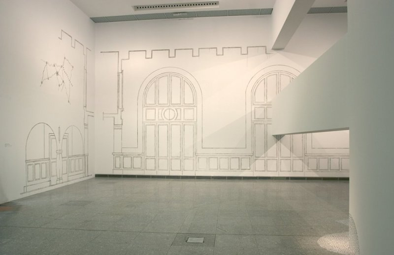 Catherine Bertola, Been and Gone (The Old Bus Station, Vitoria Gastiez), 2008