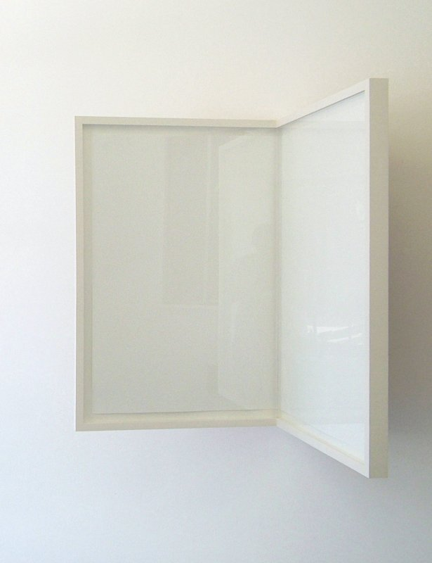 Richard Rigg, Sheet of Paper / Folded / Framed, 2008