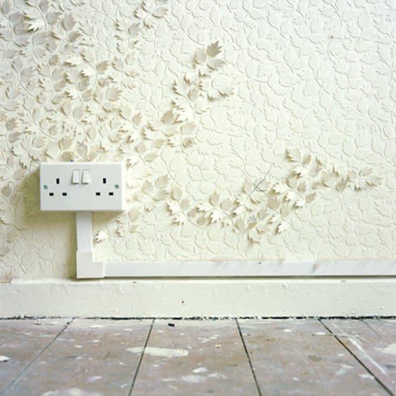 Catherine Bertola, If walls could talk…, 2002