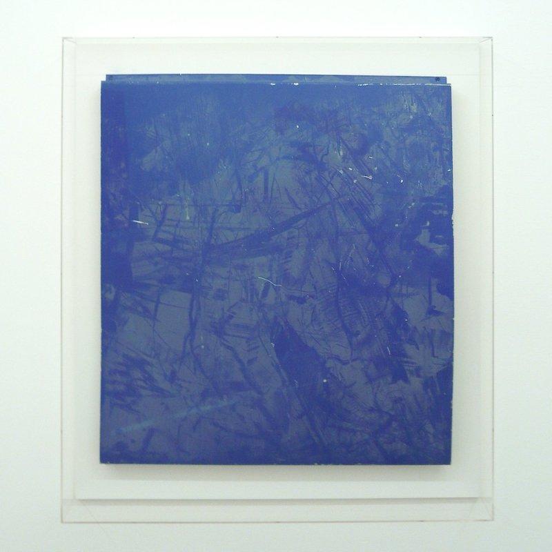 Paul Merrick, Untitled (Blue), 2010