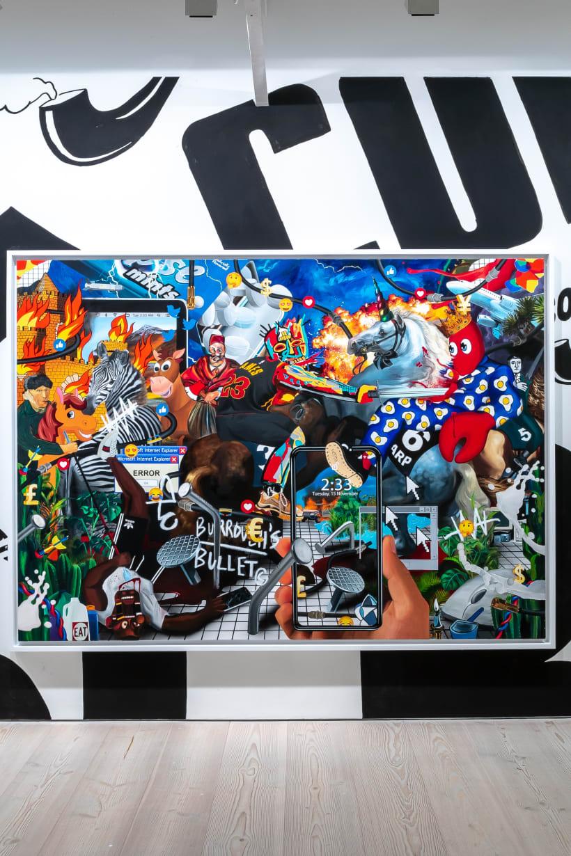 A walk-through Philip Colbert's 'Hunt Paintings' with curator Sacha Craddock