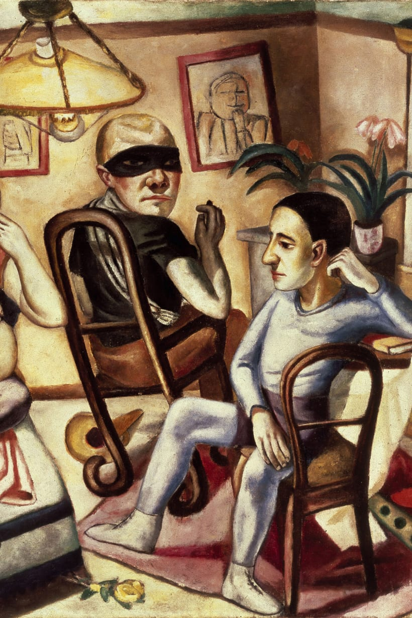 Joshua Hagler: Max Beckmann's take on violence of mind