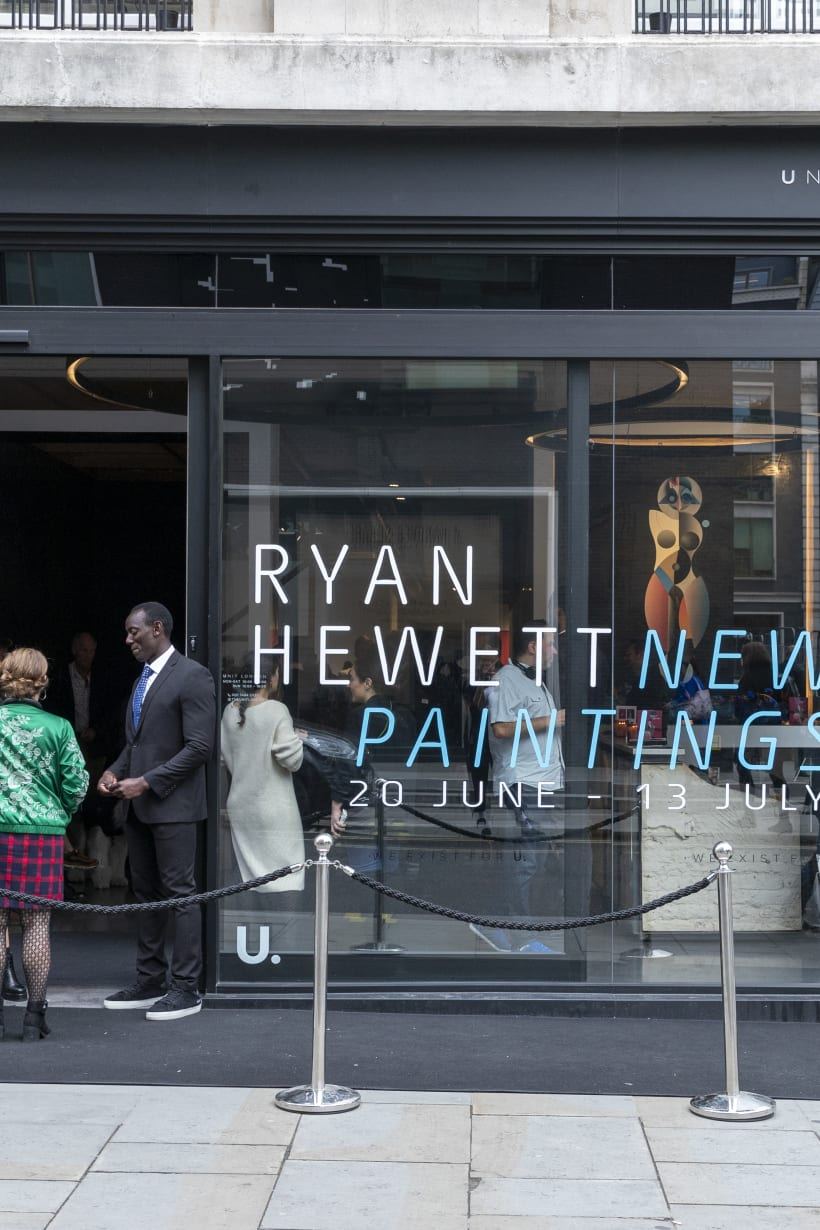 Ryan Hewett's New Paintings: Private View