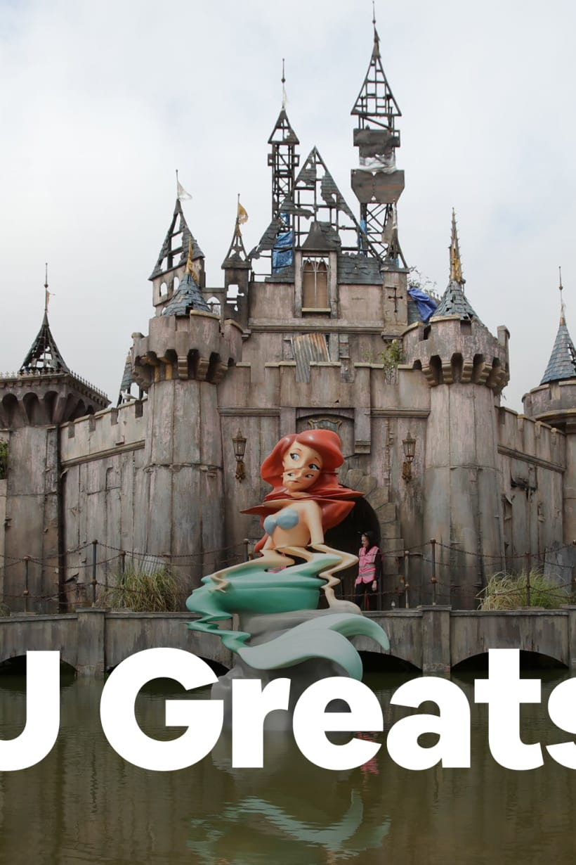 Why Banksy's new work reminds us of Dismaland's importance