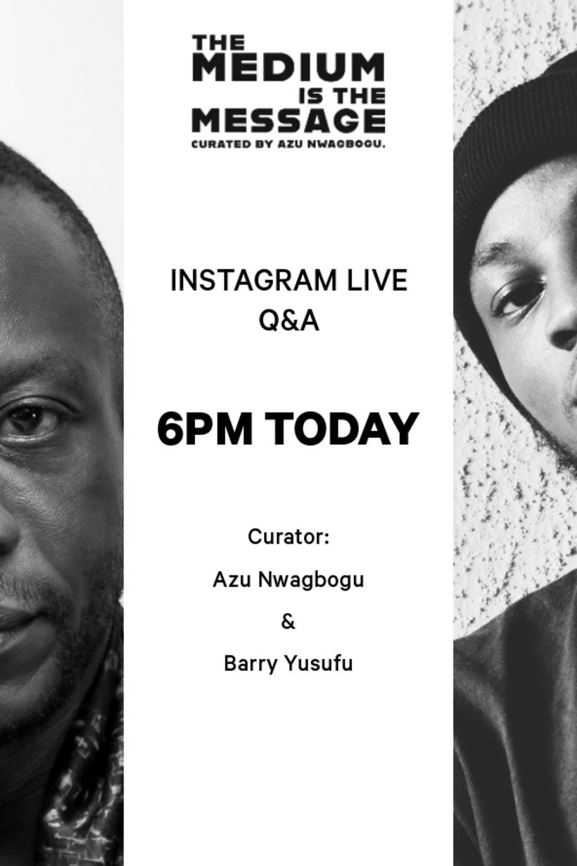 Azu Nwagbogu x Barry Yusufu