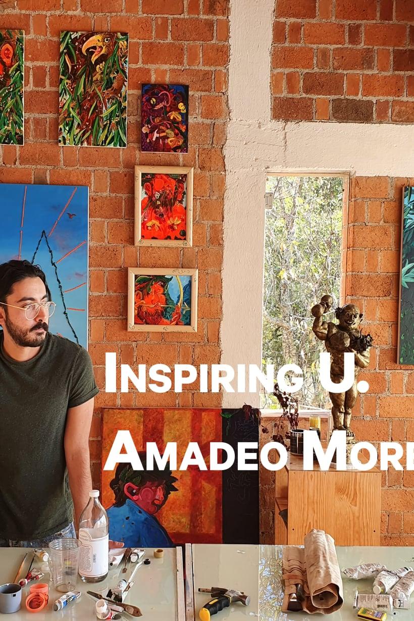 Amadeo Morelos, Monet, Rothko and Plato