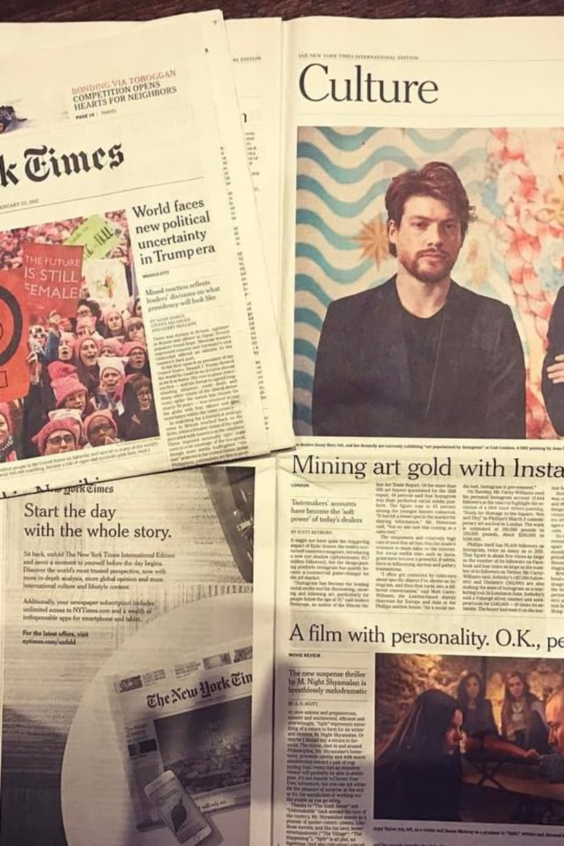 New York Times feature