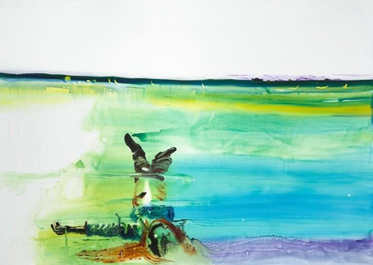 <p>Jesper, 2008 <br /><em>Acrylic on canvas, 260 x 360 cm 102.44 x 141.84 in</em></p>