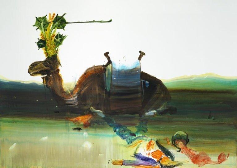 <p>Thomas, 2008<br /><em>Acrylic on canvas, 260 x 360 cm 102.44 x 141.84 in</em></p>
