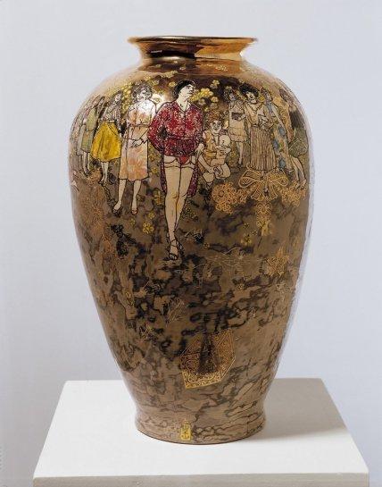 <p>Precious Boys, 2004<br /><em>Glazed ceramic, 53 x 33 cm 20 7/8 x 13 in</em></p>