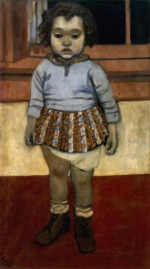 <p>Sheila, 1938<br /> <em>Oil on canvas, 81.3 x 45.7 cm 32 1/8 x 18 in<br /> © The Estate of Alice Neel</em></p>