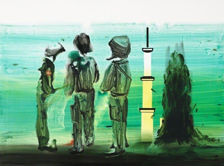 <p>Sonny, 2008 <br /> <em>Acrylic on canvas, 180 x 240 cm 70.92 x 94.56 in</em></p>