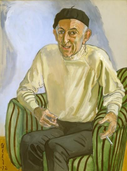 <p>Michael Freilich, 1972<br /><em>Oil on canvas, 101.6 x 76.2 cm 40 x 30 in<br /> © The Estate of Alice Neel</em></p>
