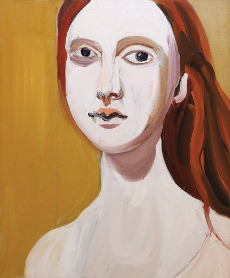 Red Head on Ochre, 2012