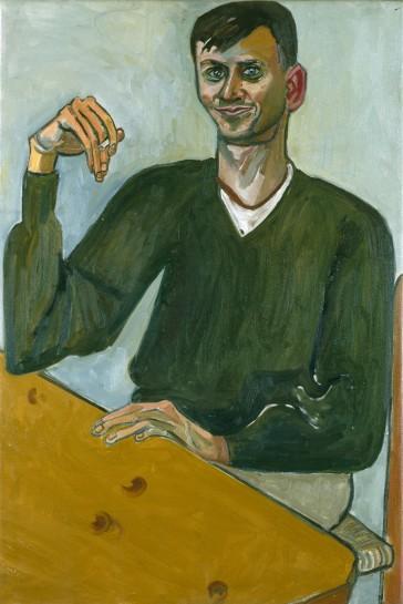 <p>Sol Alkaitis, 1965<br /> <em>Oil on canvas, 101.6 x 68.6 cm 40 x 27 1/8 in<br /> © The Estate of Alice Neel</em></p>