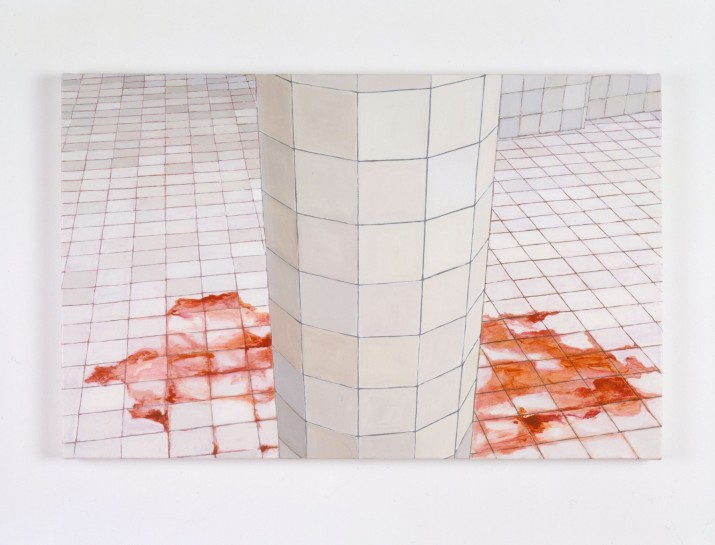"<div id=""slideshowCaption""><span>The Guest, 2004</span><br /> <em>Oil on canvas, 70 x 50 cm 27 1/2 x 19 3/4 in</em></div>"