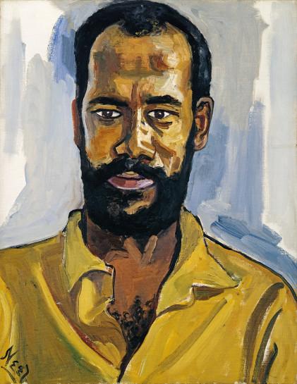 <p>Abdul Rahman, 1964<br /> <em>Oil on canvas, 50.8 x 40.6 cm 20 x 16 in<br /> © The Estate of Alice Neel</em></p>