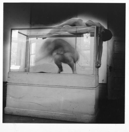 <p>Space2, Providence, Rhode Island, 1975-1978<br /> <em>Gelatin silver estate print, 25.4 x 20.3 cm 10 x 8 in<br /> © The Estate of Francesca Woodman Courtesy George and Betty Woodman</em></p>