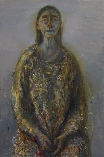 "<span class=""artist""><strong>Celia Paul</strong></span>, <span class=""title""><em>Self-Portrait, September-October</em>, 2015</span>"