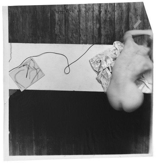 <p>Untitled (from Swan Song series), Providence, Rhode Island, 1978<br /> <em>Estate digital c-print, 110.2 x 114.3 cm 43 3/8 x 45 in<br /> © The Estate of Francesca Woodman Courtesy George and Betty Woodman</em></p>