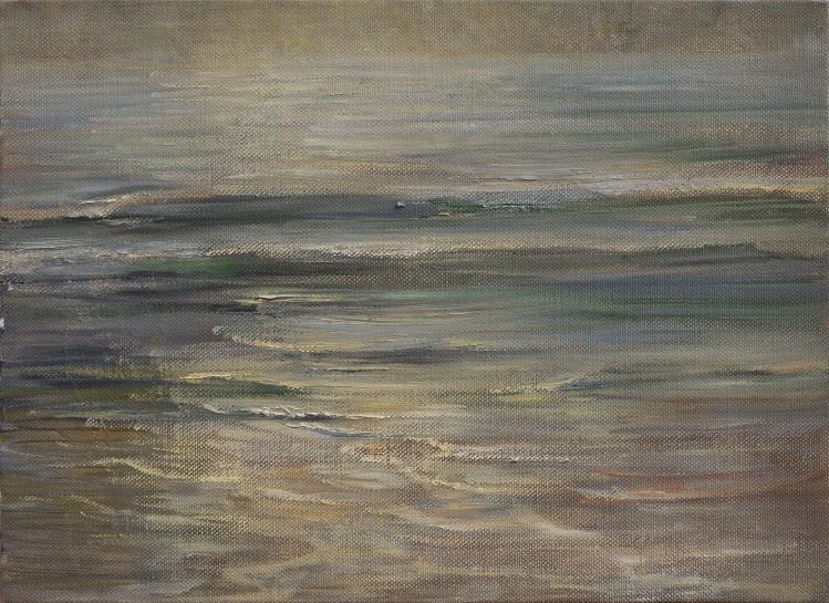 <span class=&#34;artist&#34;><strong>Celia Paul</strong></span>, <span class=&#34;title&#34;><em>Last Light on the Sea</em>, 2016</span>