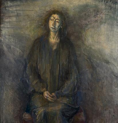 <span class=&#34;artist&#34;><strong>Celia Paul</strong></span>, <span class=&#34;title&#34;><em>Kate in Blue</em>, 2013</span>
