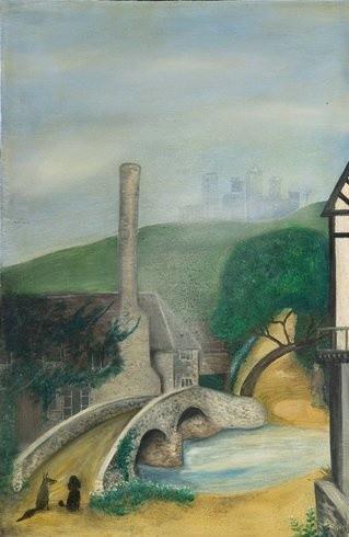 <p>Jack by the Hedge, 2004<br /><em>Oil on wood, 67.5 x 44.5 cm</em></p>
