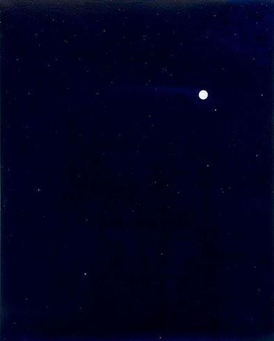 <p>Wednesday, 2005<br /><em>Oil on canvas, 218.4 x 177.8 x 5.1 cm 86 x 70 x 2 in</em></p>