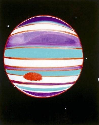 <p>Thursday, 2005<br /><em>Oil on canvas, 218.4 x 177.8 x 5.1 cm 86 x 70 x 2 in</em></p>