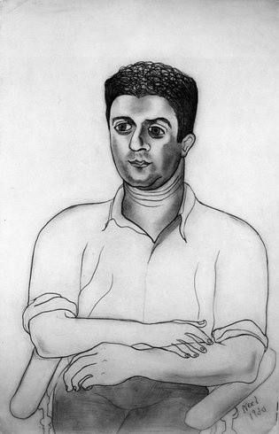 <p>Young Man, 1930<br /><em>Pencil on paper, 38.1 x 25.4 cm 15 x 10 in</em></p>