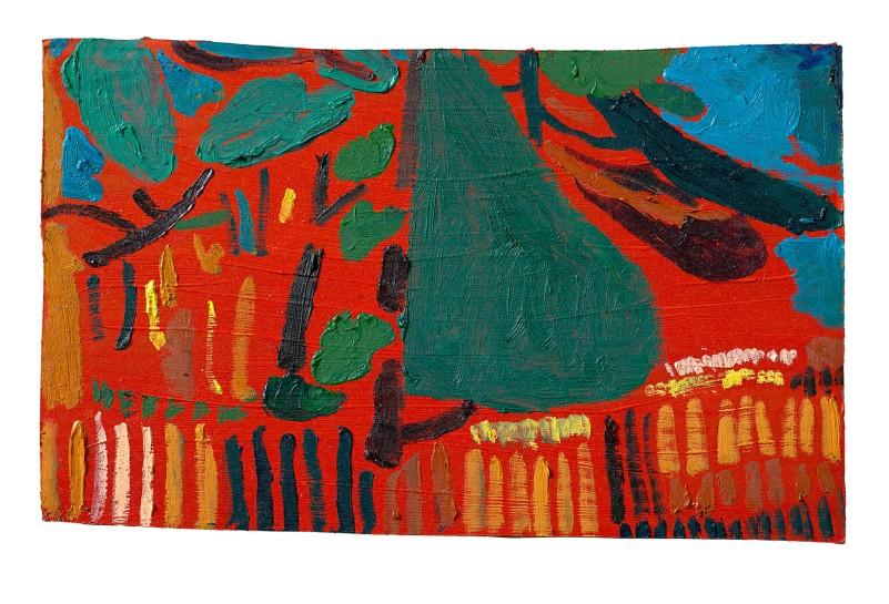 <p>Walk towards Hare Hill, 2013<br /> <em>Oil on cardboard, 23 x 36 cm, 9 1/8 x 14 1/8 in</em></p>