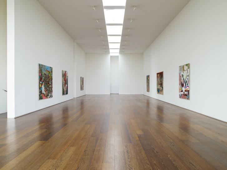 <p>Installation View, Hernan Bas, <em>Memphis Living</em>, Gallery II, Victoria Miro, 16 Wharf Road, London N1 7RW, 2014</p>