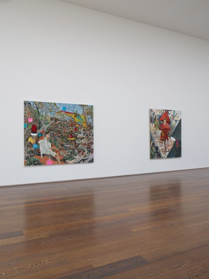 <p>Installation View, Hernan Bas, <em>Memphis Living</em>, Gallery II, Victoria Miro, 16 Wharf Road, London N1 7RW, 2014</p>