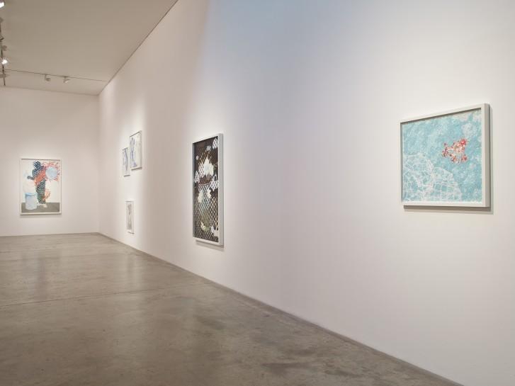 <p>Installation View, Christian Holstad, <em>Corrections</em>, Gallery I, Victoria Miro, 16 Wharf Road, London N1 7RW, 2014</p>